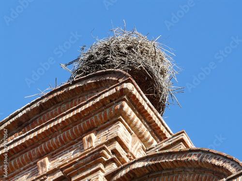 Obraz Opuszczone gniazdo - fototapety do salonu