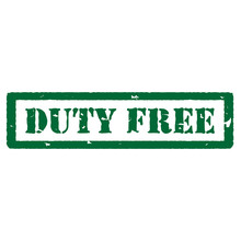 Duty Free Stamp