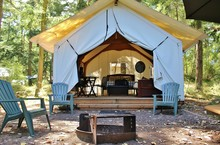 Glamping Cabin In The Woods