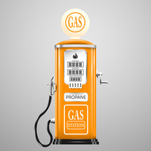 Vintage Looking Gas Pump For L...
