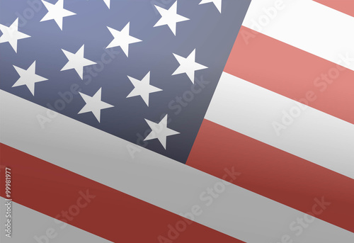 Photo  American flag. Background for the Martin Luther King Day. 18th o