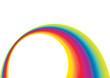 Rainbow template Background, vector illustration