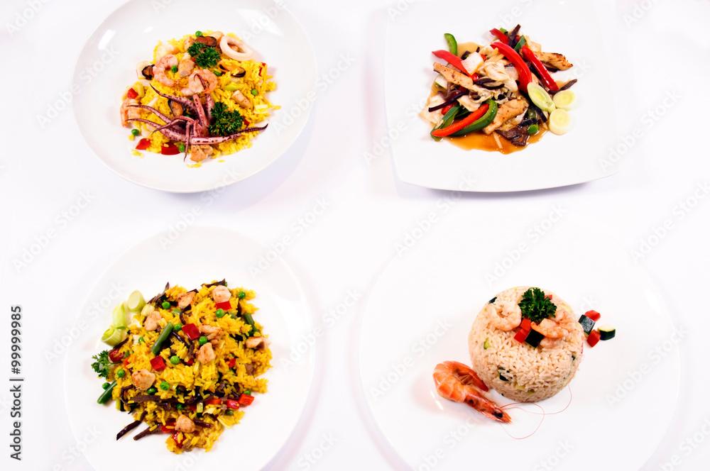 Fototapeta Restorant menu