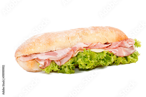 Obraz Sandwich isolated - fototapety do salonu