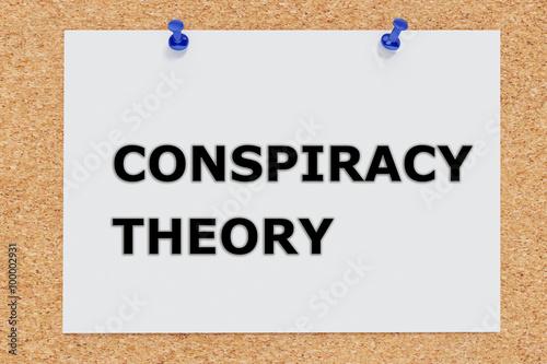 Fotografie, Obraz  Conspiracy Theory concept