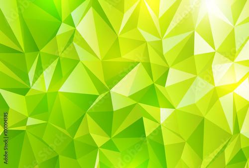 緑 ポリゴン 背景