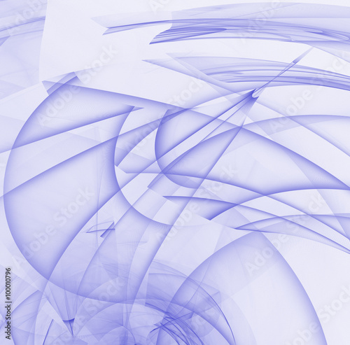 Fotografie, Obraz  purple abstract fractal background. computer generated image
