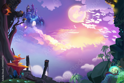Illustration: Look, the Castle in the Air, We finally get here, but how Can we g Poster