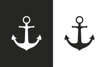 Anchor - Vector Icon.