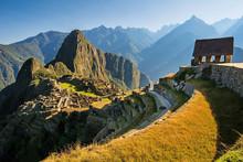 Machu Picchu Sunrise, Peru