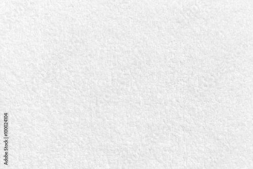 Fototapeta White natural cotton towel  background texture obraz