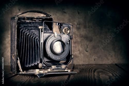Photo Old film camera