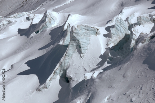 Glacier ice Canvas-taulu