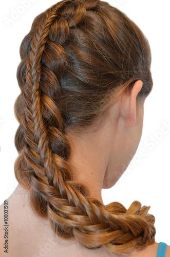 Прическа с длинных волос - 100031509
