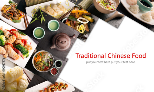 Traditional chinese food Wallpaper Mural