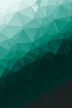 Bright, Modern Geometric Abstract Polygon Background For Web Design And Presentation. Vertical Pattern. Vector EPS 10