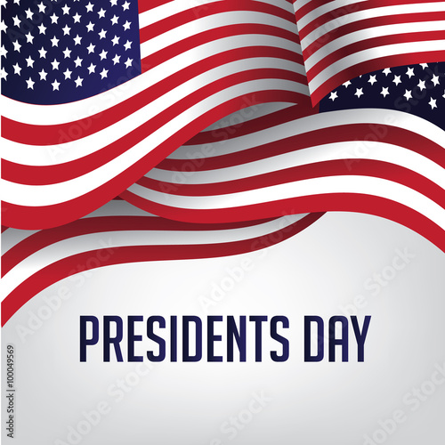 Photo  Martin Luther King Day American flag illustration. EPS 10 vector