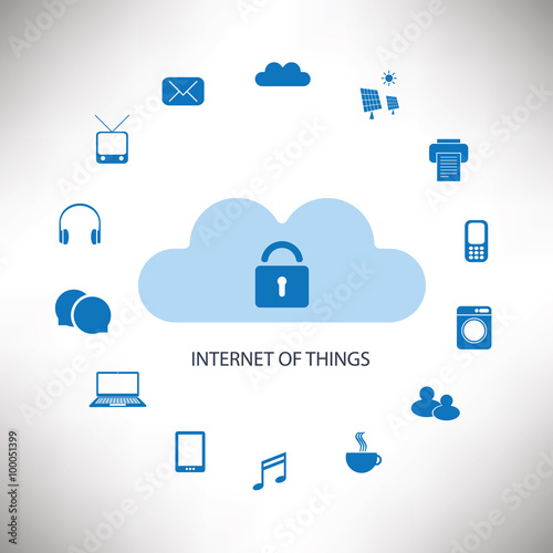 Fotografía  Internet Of Things Concept Design