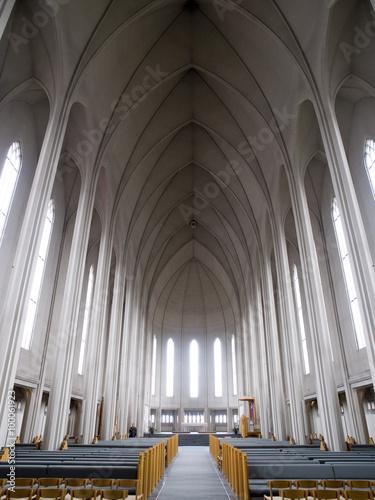 Hallgrimskirkja Cathedral Billede på lærred