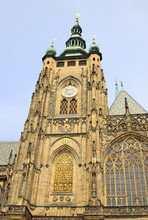 PRAGUE, CZECH REPUBLIC - APRIL 23, 2013: St. Vitus Cathedral In Prague, Czech Republic