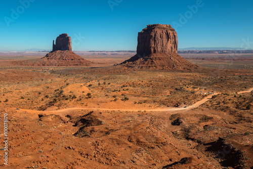 Foto op Canvas Australië Monument valley, Arizona
