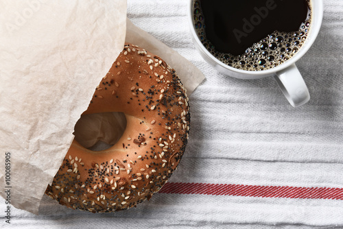 Bagel and Coffee