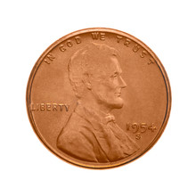 American One Cent Coin.