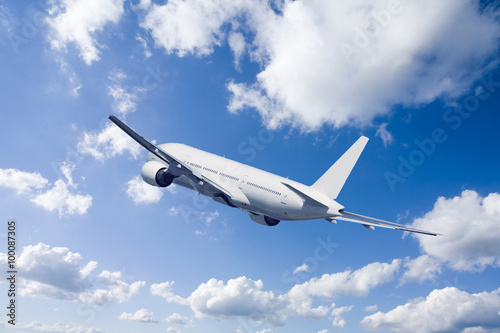 Fotomural 旅客 機