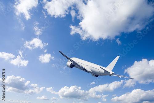 Foto op Canvas Vliegtuig 旅客機