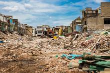 Demolition Of Buildings Destroyed
