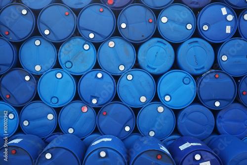 Foto stack of grunge barrel