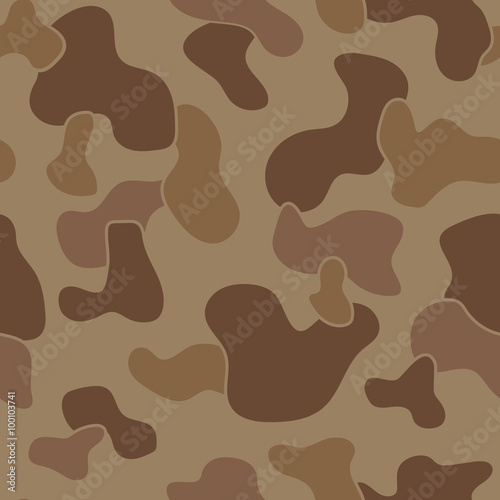 Photo  Military Camouflage Textile Pattern