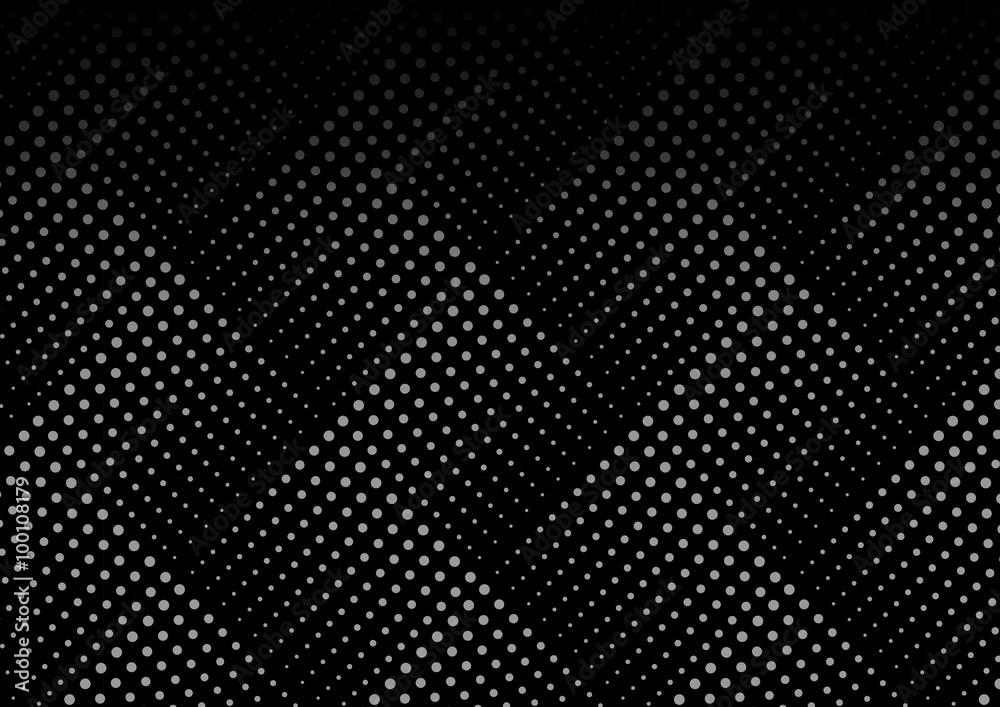 Dotted line geometric seamless pattern. Endless texture. Pattern swatches included in file.