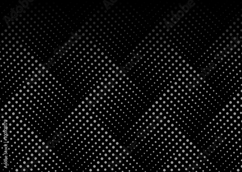 fototapeta na drzwi i meble Dotted line geometric seamless pattern. Endless texture. Pattern swatches included in file.