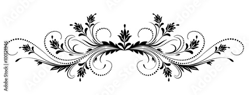Obraz Decorative floral ornament - fototapety do salonu