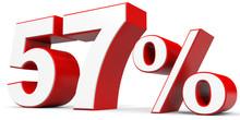 Discount 57 Percent Off.