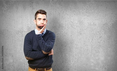 Valokuva  tired man