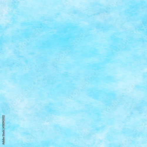 Light Aqua Water Blue Watercolor Paper Texture Background