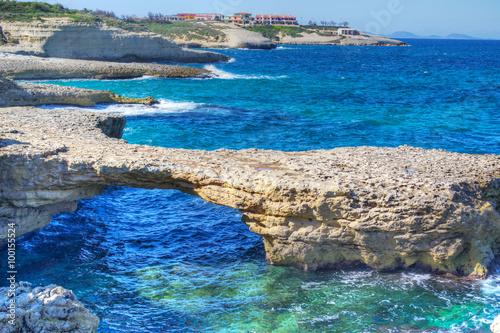 Fotografie, Obraz  Porto Torres shore on a summer day