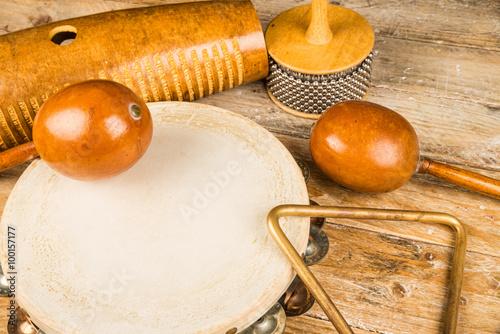 Foto Small percussion instruments
