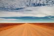 canvas print picture - travelling the Sturt Stony Desert, South Australia, Australia