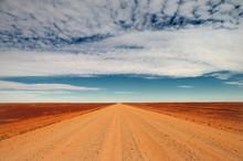 Travelling The Sturt Stony Desert, South Australia, Australia
