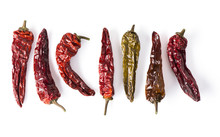 Dried Chili Peppers Lineup