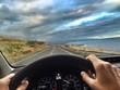 frau auto fahren hawaii
