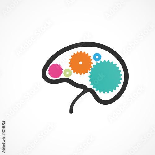 Fotografie, Obraz  cerveau,science