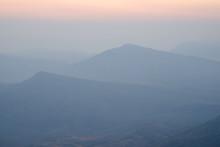 Beautiful Sunrise View Of Moun...