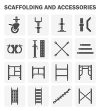 Scaffolding Icon Also Called S...