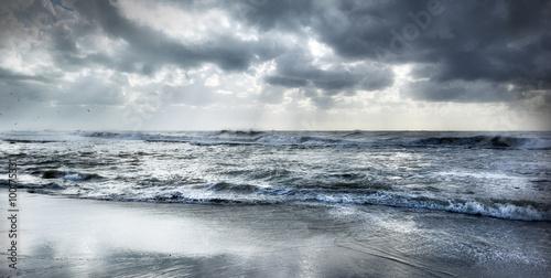 Staande foto Zee / Oceaan Rough sea