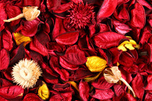 Red Potpourri Background