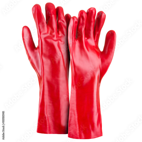 Obraz Red gloves - fototapety do salonu
